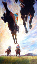 The High and The Mighty Cheltenham (edition400)available in two sizes regular (300x500) £120 or large 550x920 £245
