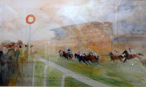 Cheltenham WatercolourSOLD