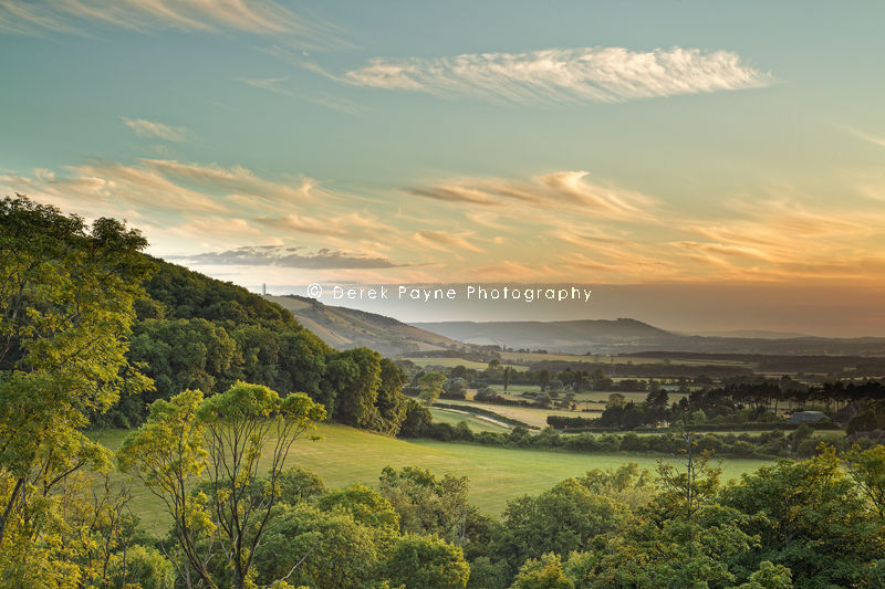 View of Devil's Dyke from Poynings