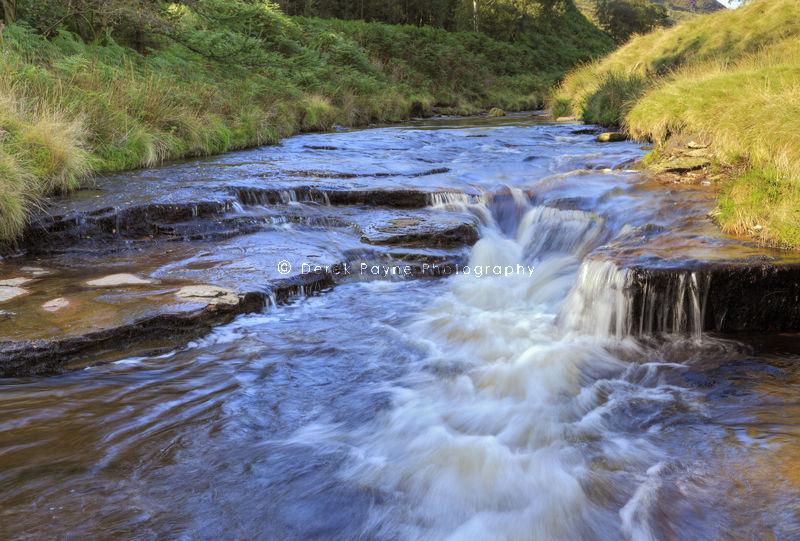 Flowing Waters, River Derwent, Dark Peak, Peak District