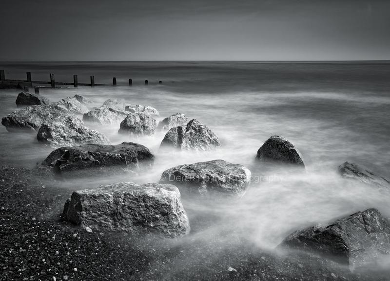 Sea mist. Long Exsposure, Worthing coast, West Sussex