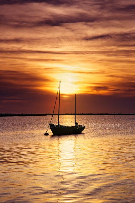 Sunset, Chichester Channel