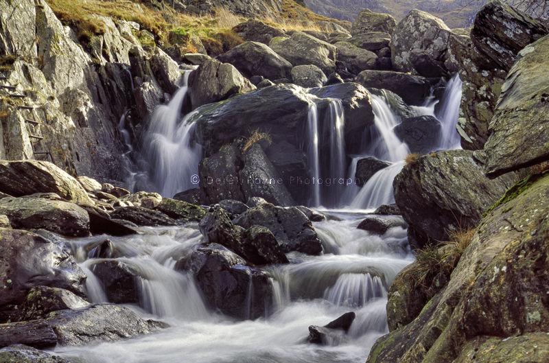Llyn Ogwen Waterfall, North Wales