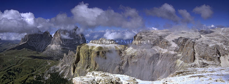 On top of the world - The Dolomites, Siss Pardoi, Tyrol, Italy
