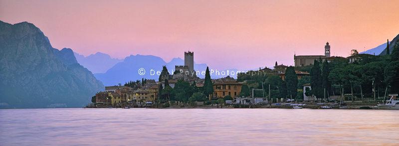 Malcesine at Sunrise, Lake Garda, Italy