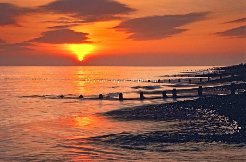 Days End~Goring beach.