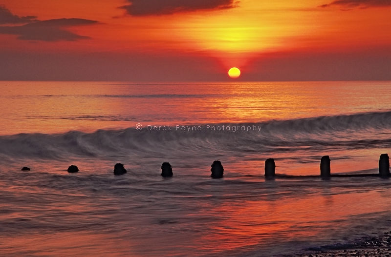 Setting Sun~Goring beach