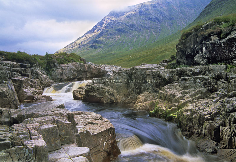 Waterfalls on river Nevis