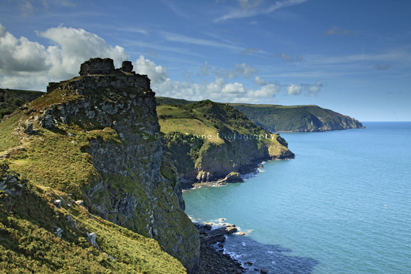 Castle Rock, Vallley of Rocks  North Devon