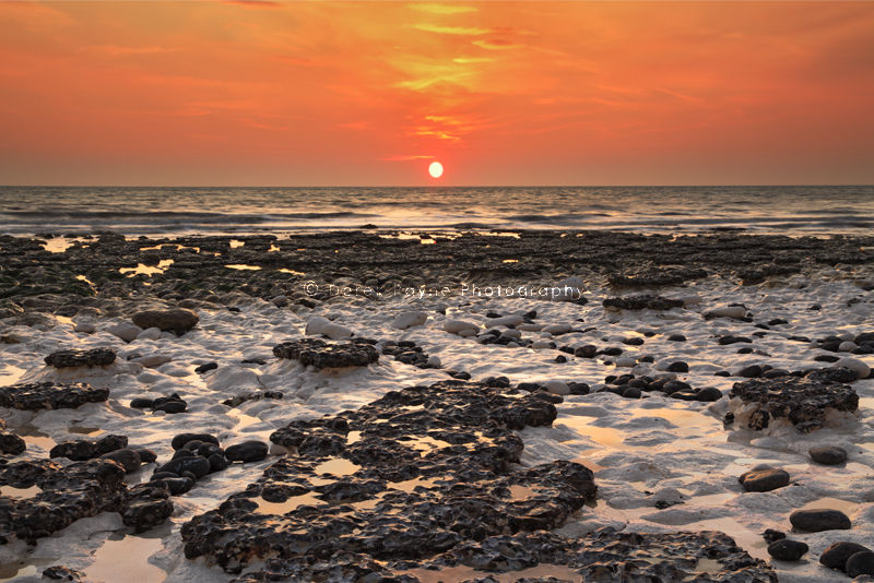 Coastal Sunset at Burling Gap