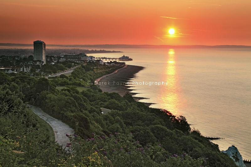 Sunrise at Eastbourne