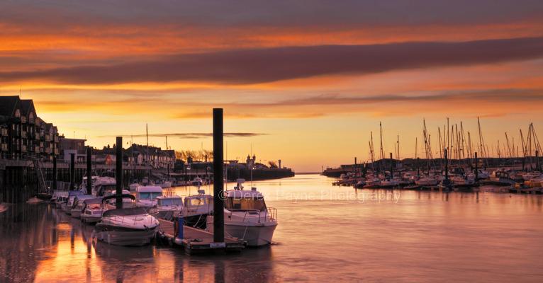 Littlehampton Harbour at Sunrise