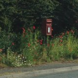 Even the village postbox is lovely!