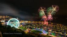 Riviera Wheel Fireworks 2014 TW24