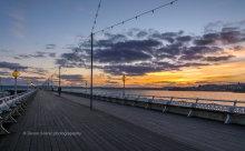 Torquay Pier Sunset T116