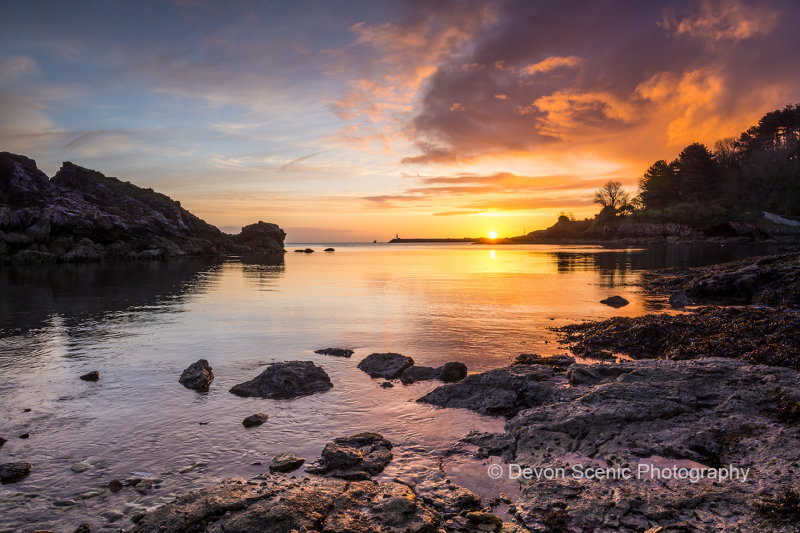 Churston Cove Sunrise B22