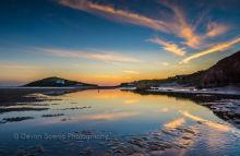Burgh Island Sunset DV 40