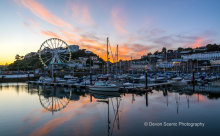 Torquay Harbour Sunset TW28