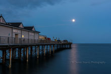 Teignmouth Pier by Moonlight DV33