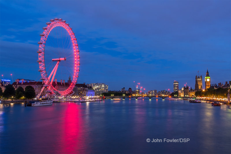 London Eye at Twilight L06