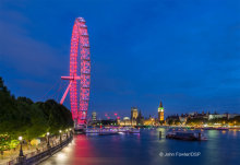 London Eye at Night L07