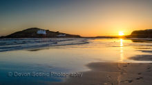 Bigbury Sunset DV28