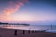 Teignmouth Pier Sunrise Dv35