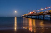 Paignton Pier by Moonlight P18