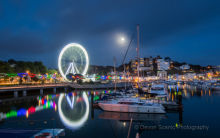 Torquay Harbour by Moonlight TW18