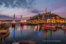 Riviera Wheel at Twilight TW22
