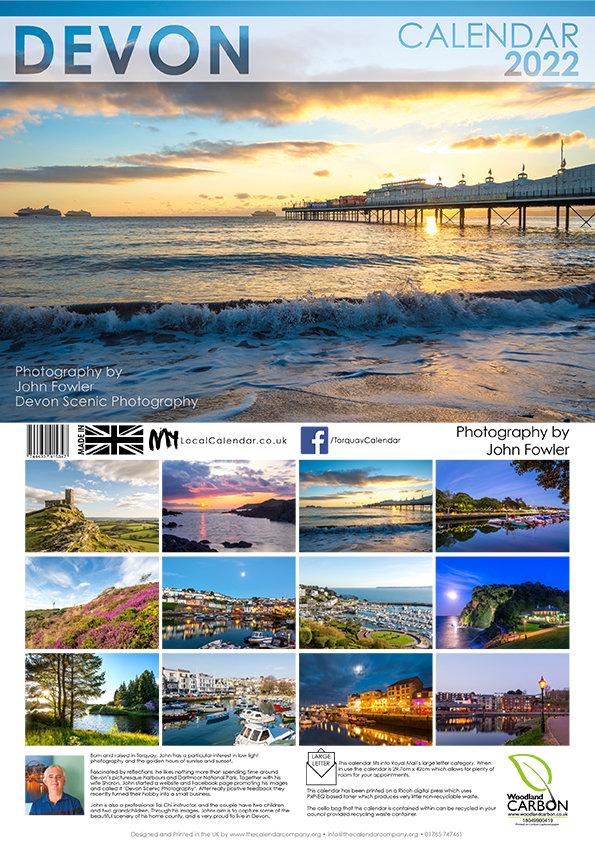 Devon 2022 Calendar
