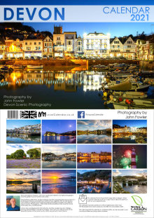 Devon 2021 Calendar