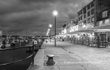 Barbican, Plymouth By night. DV45