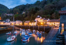 Lynmouth By Twilight DV74