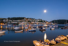Kingswear By Moonlight ( Fron Dartmouth ) DV71