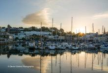 Torquay Harbour Sunrise T149