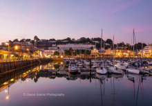 Torquay Harbour By Twilight T170