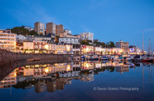 Torquay Harbour Reflections T182