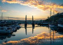 Torquay Harbour Sunset T184