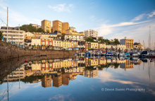 Torquay Harbour Reflections T185