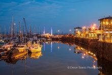 Torquay Harbour Twilight T187