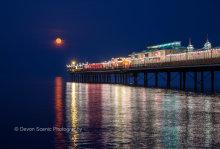 Paignton Pier By Moonlight P34