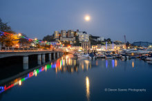 Torquay Marina By Moonlight T189