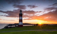 Plymouth Hoe Sunset DV42