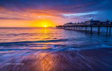 Paignton Pier Sunrise P23