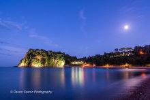 The Ness, Shaldon By Moonlight DV73