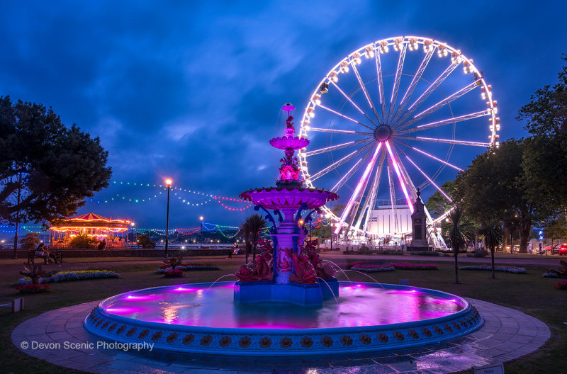 Torquay Fountain and Wheel TW46