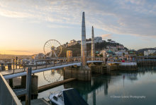 Torquay Harbour Bridge And Wheel TW44