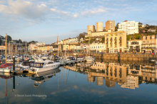 Torquay Harbour Reflections T167