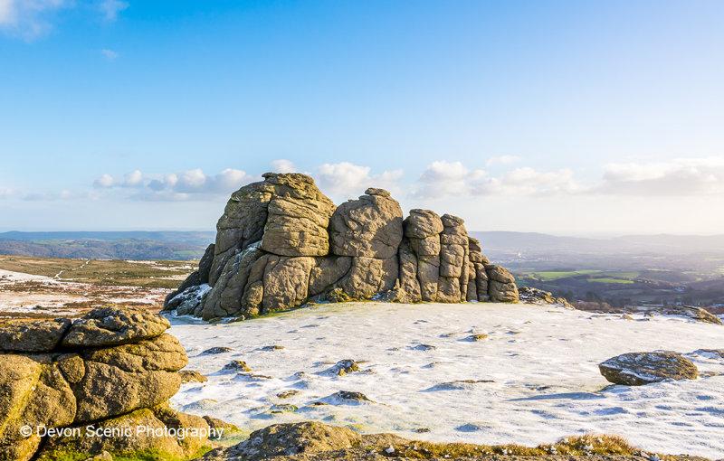 Haytor In The Snow DM26